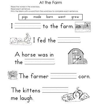 themes of the story a horse and two goats fill in the blank worksheets