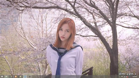 wallpaper engine twice mina the reason why spring comes wallpaper engine