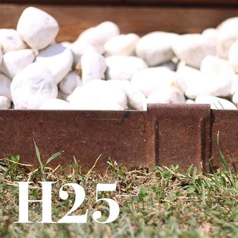 bordure per giardini bordure per aiuole in ferro h25x200