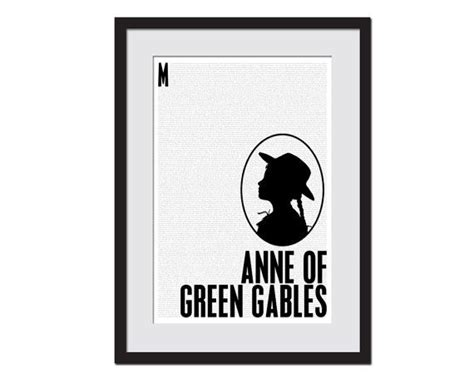 anne of green gables print graduation gift lucy maud 62 best anne of green gables images on pinterest anne