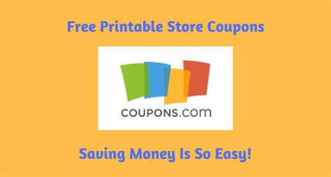 Free Online Coupons Online Coupon Codes And Cash Back | free printable store coupons saving money is so easy