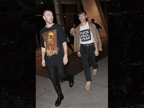 how is sam smith feeling after celebrating his grammy victory sam smith and boyfriend brandon flynn celebrate at snl