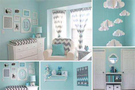 une chambre de b 233 b 233 bleue et grise c est 231 a la vie