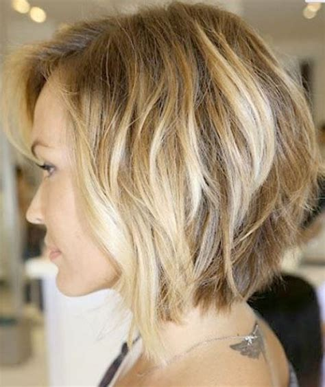 chuncky bob hair cuts stacked bob haircut w chunky highlights back view i m