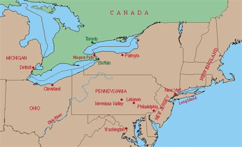 map east usa and canada map of eastern united states and canada