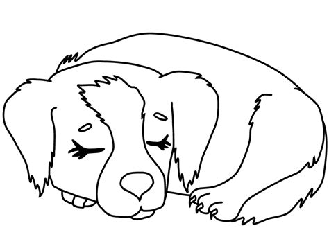Coloring Pages Of Puppies And Kittens Coloring Home Puppy Coloring Pages