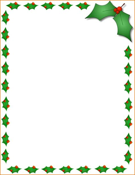 merry christmas template word