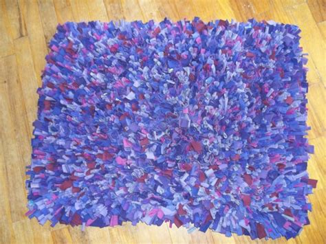 Recycled T Shirt Rug by Recycled T Shirt Shag Rug Home Ideas