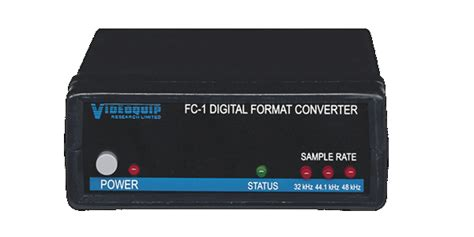 format audio digital fc 1 s pdif or optical to aes ebu format converter