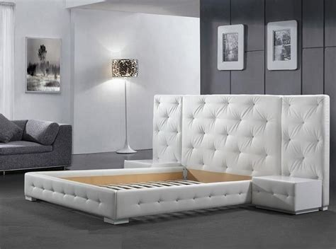 New Design Bedroom Furniture New York Nyc Modern Platform Bed Reims 1 699 00 Modern Bedroom New York By Mig
