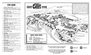 calico california map calico ghost town mining town in yermo california