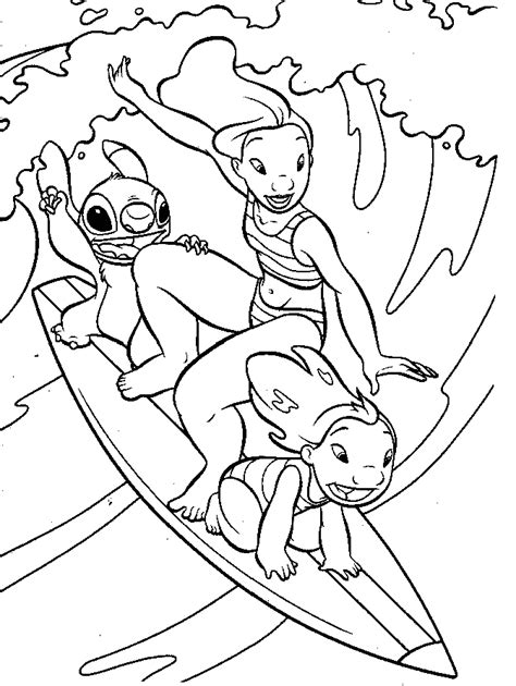 coloring pages of lilo and stitch pudgy bunny s lilo stitch coloring pages