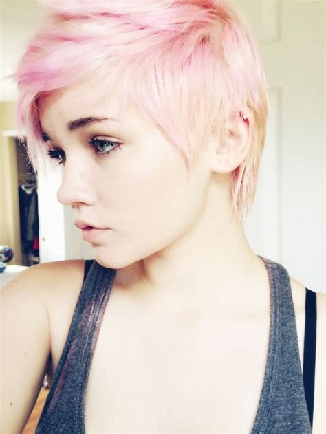 dye pixie professional short pixie cut pink pastel haur hairstyles and colors i