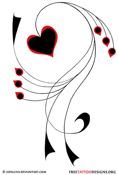 tattoo heart designs cliparts co