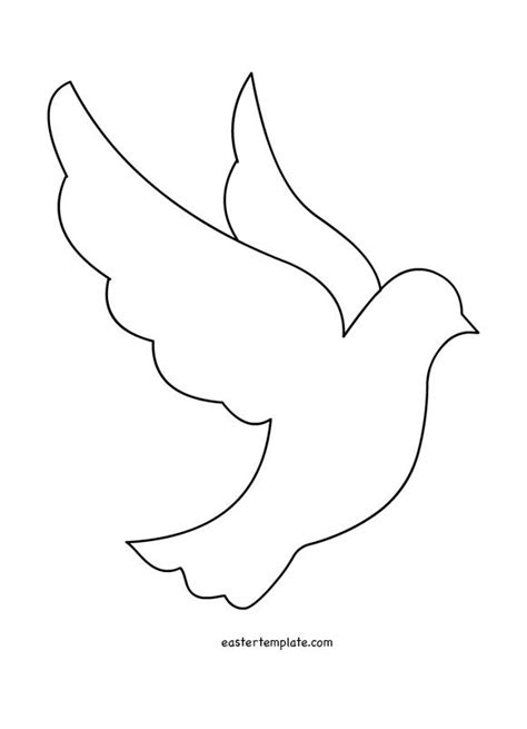 Dove Outline Template 25 best ideas about peace dove on dove