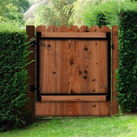 wide gate adjust a gate original series 60 in 96 in wide gate opening steel gate frame kit