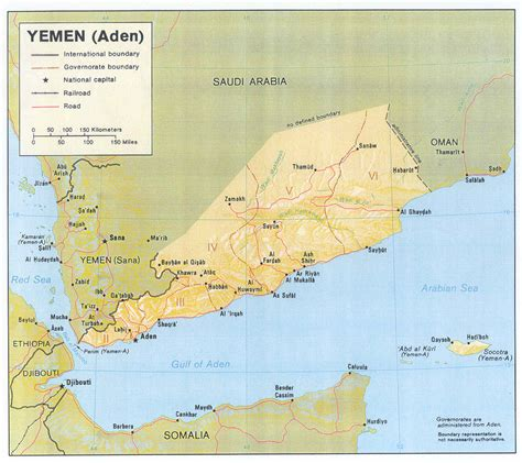 map of yemen travel guide to yemen