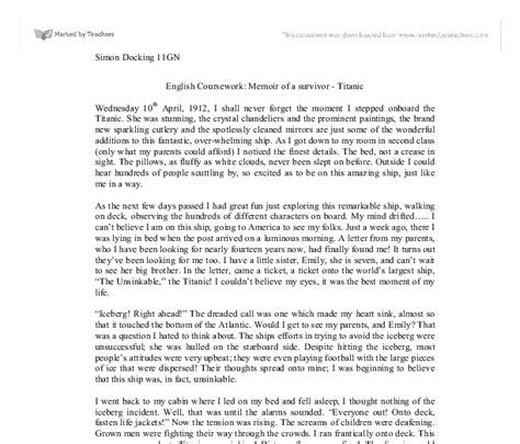Exle Of A Memoir Essay by Image Gallery Memoir Sles
