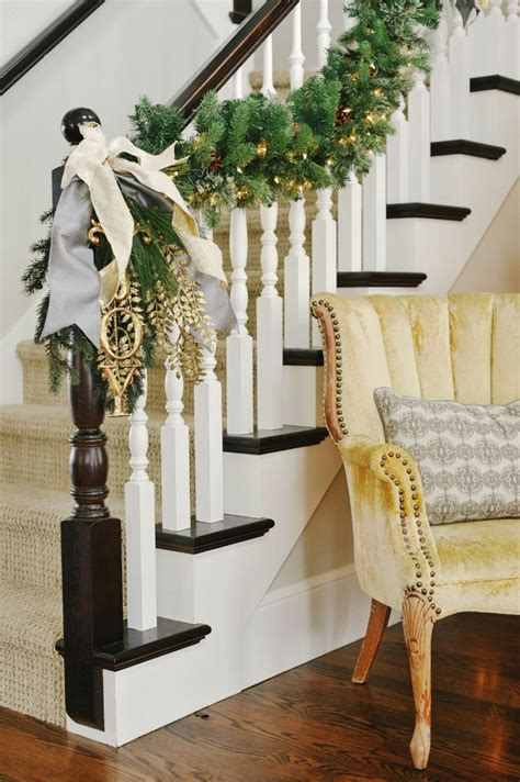 stair railing christmas ideas decorating ideas home bunch interior design ideas