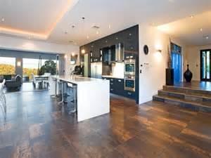 Kitchens With Large Islands modern open plan kitchen design using tiles kitchen