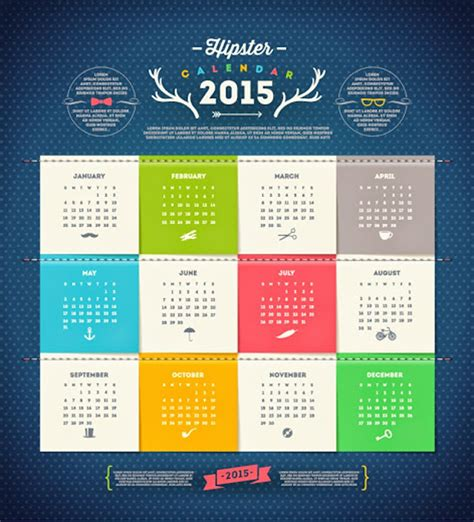 graphic design calendar wallpaper 2015 new year vector designs for wallpapers vector
