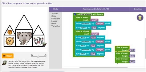 Code Stage 15 Puzzle 8 | code org stage 15 defining functions and adding