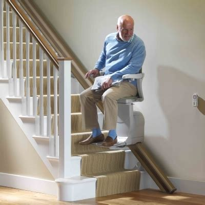 chair that goes up the stairs stairlifts to fit any staircase stannah stairlifts usa