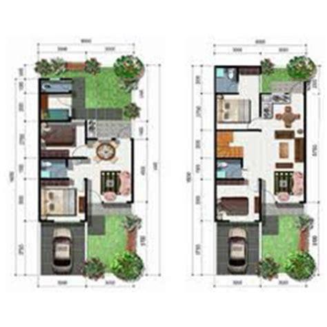layout rumah petak desain denah rumah kontraktor desain rumah kontraktor