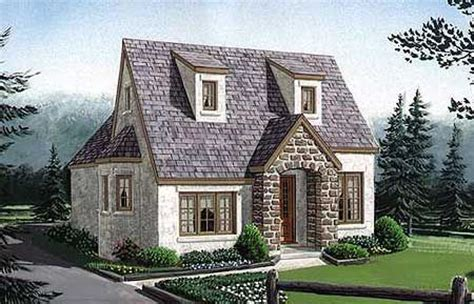 cottage house cottage narrow lot european house plans home designs