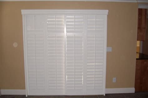 Plantation Shutters For Sliding Glass Door by Plantation Shutters For Sliding Glass Door Traditional