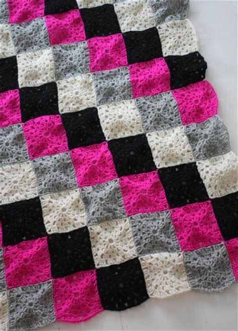 Squares Baby Blanket by 15 Free Crochet Baby Blanket Patterns 101 Crochet