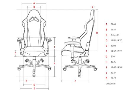 Office Chair Measurements by How To Find The Right Ergonomic Gaming Chair Computer