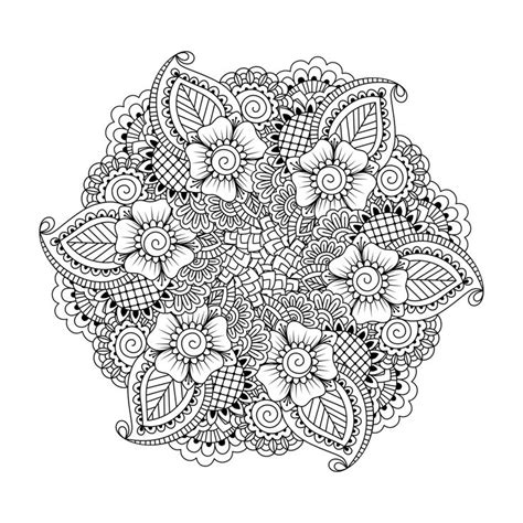 unique coloring pages for adults mandala coloring pages for adults print coloring www