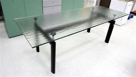 Le Table by Le Corbusier Edition Cassina Table Lc6 A Pietement En
