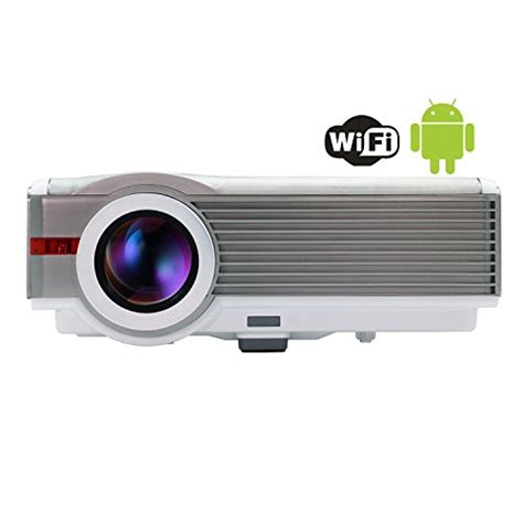 Lcd Projector Wireless eug x99 a android4 2 wireless office education lcd