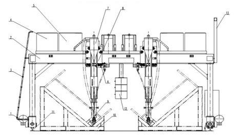 Drawing H Beam by H Beam Automatic Welding Machine Gantry Type Chengdu
