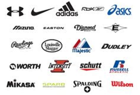 sports shoes logos and names 1000 images about sport logos on sports team