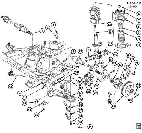 2004 gmc suspension front