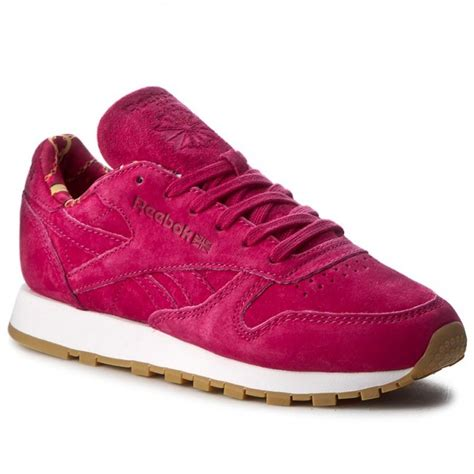 manic shoes shoes reebok cl leather tdc bs7529 manic cherry white