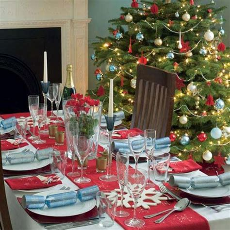 easy christmas dining table decorating ideas home trendy