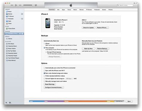 step up on itunes iphone backup quick way to back up iphone data