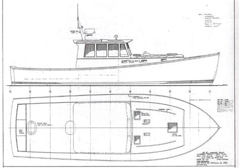 lines drawing boat building lobster boat drawing google search images pinterest