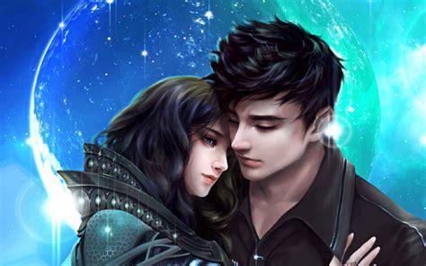 romantic couple  dreamy night hugs love wallpapers hd