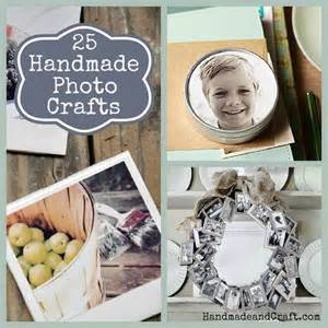 gifts for the family 25 handmade photo crafts diy gifts
