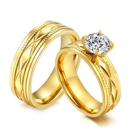 wedding ring couple gold wedding rings for couples wedding rings for couples with names en