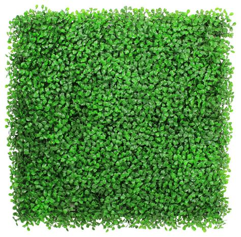 Faux Boxwood Mat by 12 20 Quot X20 Quot Light Green Artificial Boxwood Hedge Mat
