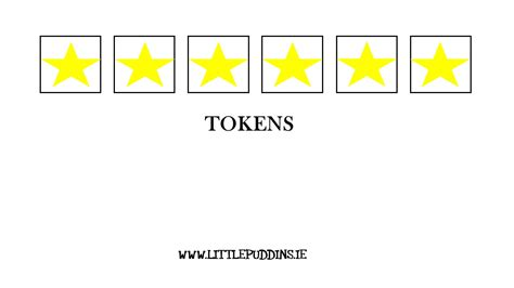 token board template communication printable the puddins