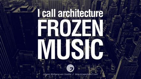 art design quotes famous i call architecture frozen music johann wolfgang von