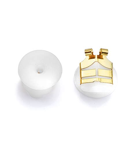 lox secure gold tone earring backs