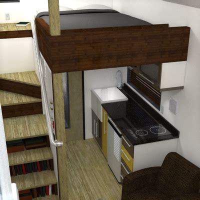 the mcg tiny house with staircase loft photos video and plans the mcg loft a tiny house with a staircase humble homes